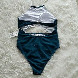 Cupshe Swim - Cupshe halter one-piece swimsuit